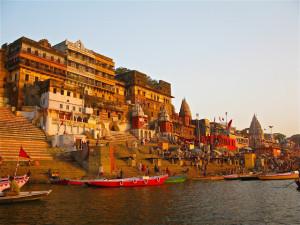 Ahilya Ghat Ganges Varanasi Photos