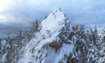 Таганай - Черная скала - 10 февраля из Миасса