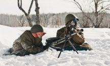 """Линия фронта"" - парк Гардарика  - 23 февраля из Миасса"