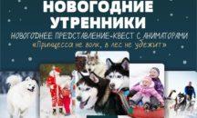 """4 января 2021 -  Встреча Нового года в Хаски – парке """"Таежная Сказка""""!"""